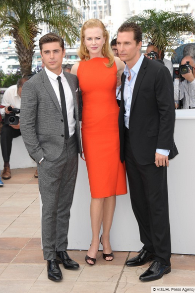 Photocall The paperboy. cannes kidman zac efron