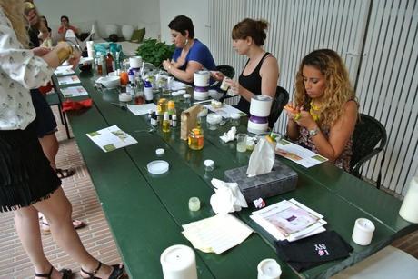 Table Atelier Cosmétiques