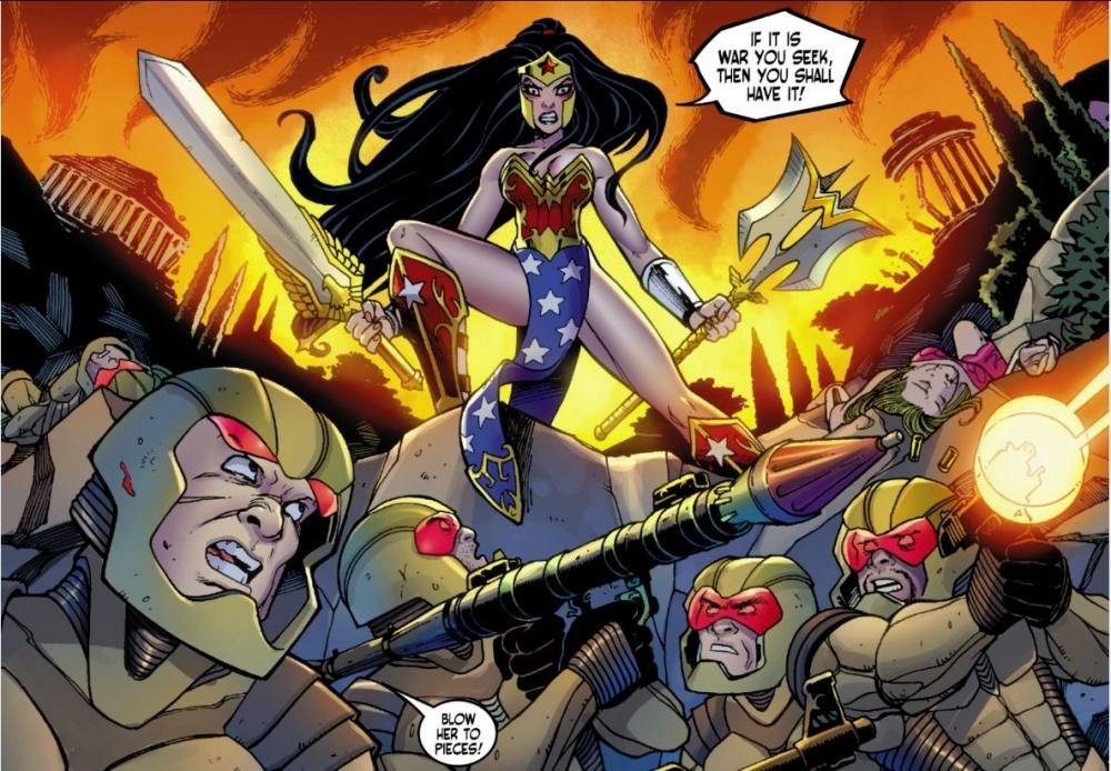 Ame-Comi Wonder Woman #1 : la review