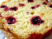 Cake cranberries betterave