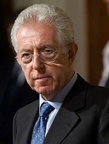 Il Professore Monti recalé par l'Europe