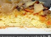 Gâteau pomme, orange, noix Ricotta