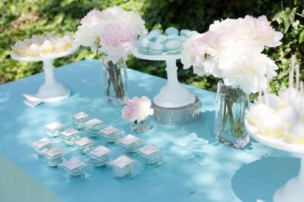Décoration de mariage bleu clair | À Voir
