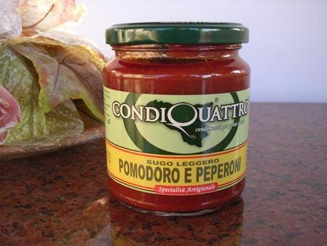 Sauce de Tomatoes et de Poivrons Gr. 280