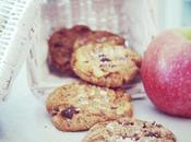 L'objet délit: Cookies chocolat cacahuètes fleur