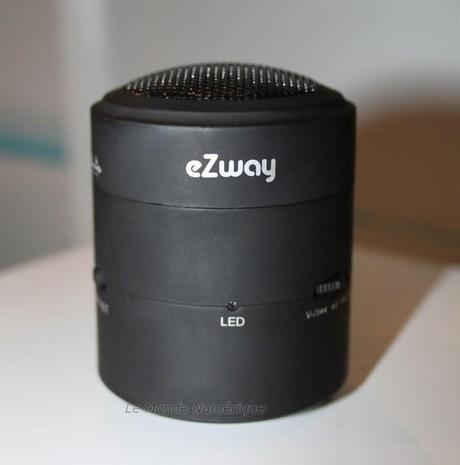 Medpi 2012 : Une mini enceinte Bluetooth qui se sert des parois comme diffuseurs chez Storex