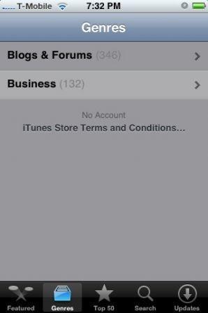 L'AppStore se dévoile