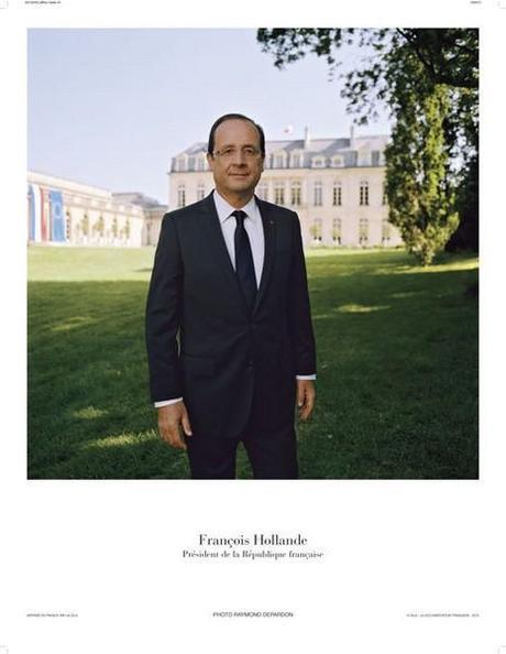 Portrait surtout pas officiel du Président de la République Française