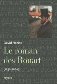 Prix de la biographie à David Haziot pour Le roman des Rouart