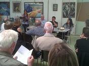 C'était samedi juin, Saint-Mandé (France), lors présentation Richard TAILLEFER Marc CHENAYE Patricia LARANCO, ARTS JALONS.