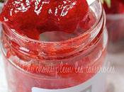 Confiture fraises gariguettes