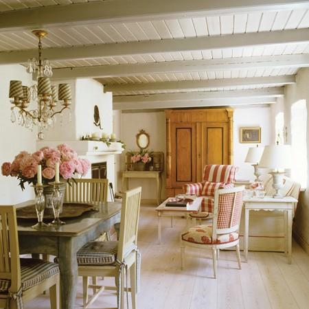 La d coration cottage paperblog for Interieur style cottage anglais
