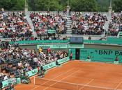 Roland Garros Terre battue rose pour journée Femme