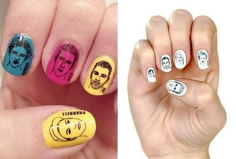 rad nails colore ou blanc Ryan Gosling ou Pharrell sur mes ongles ?