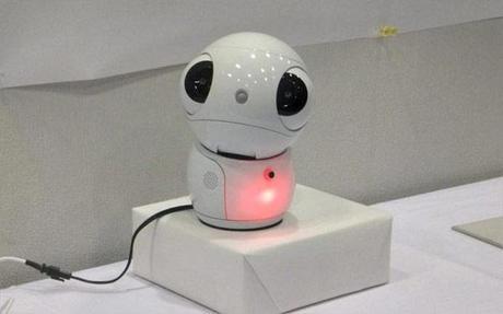 robot communiquant