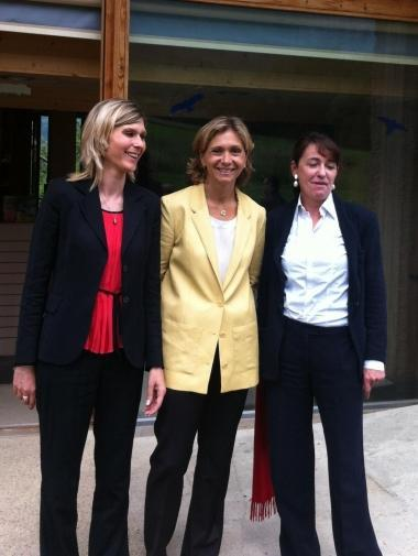 Virginie DUBY-MULLER,Valérie PECRESSE,Bernard ACCOYER,Maison du Salève,La Diligence,St Julien,Campagne législative