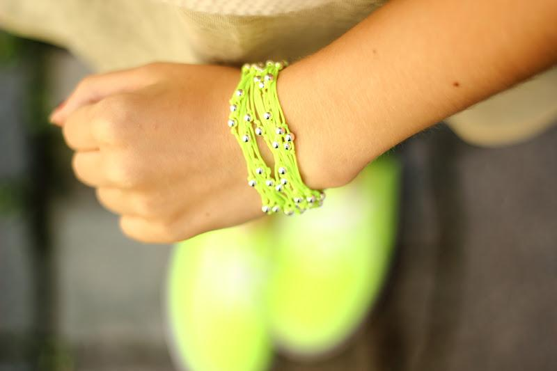 Neon touch !