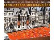 Roland Garros écran géant place l'hôtel ville