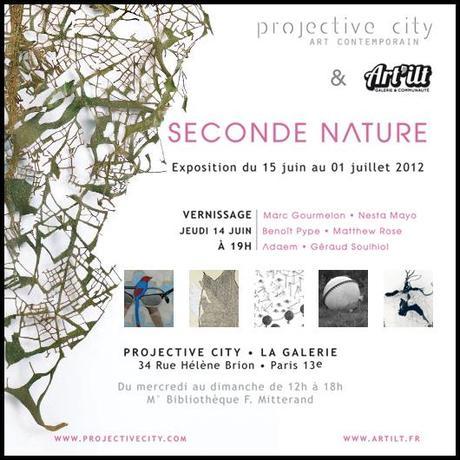 Exposition Seconde Nature par Projective City & Art'ilt