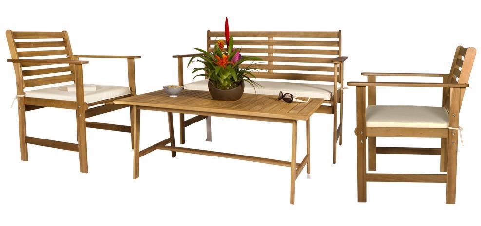 Mobilier d\'extérieur tendance 2012 : le bois et le métal - Paperblog