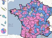 résultats législatives disponibles carte interactive Google Maps