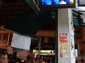 Eurofoot dans nuit Singapour