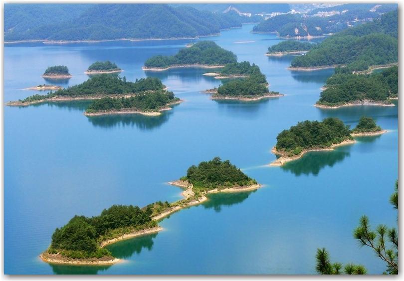 Bien-aimé Qiandao : le lac aux milles îles - Paperblog MR23