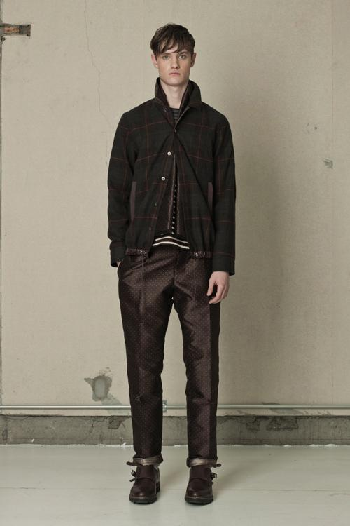 SACAI – F/W 2012 COLLECTION LOOKBOOK