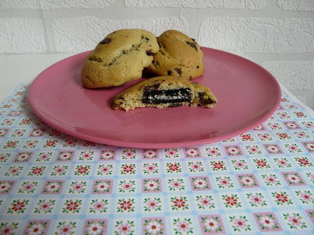 Food : Cookies Surprise ! (aux Oreos)