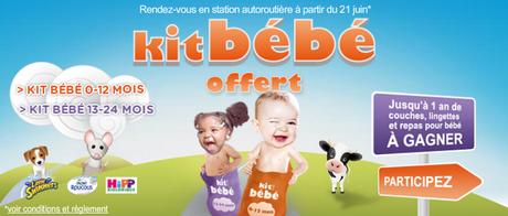 TOTAL: Kit bébé offert