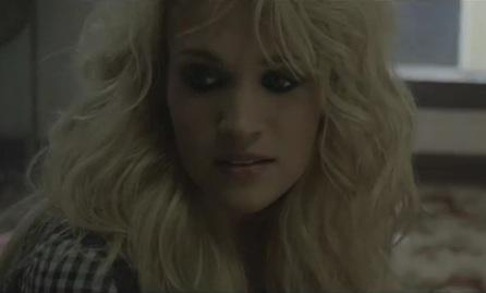 Magnifique extrait du clip de Carrie Underwood : Blown Away.