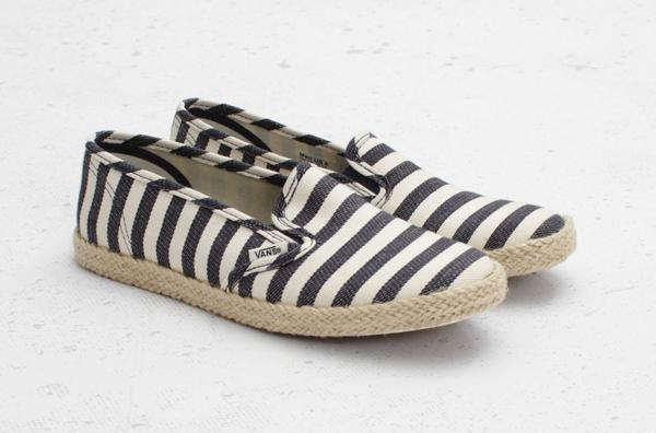 VANS SLIP-ON LO PRO ESPADRILLE NAUTICAL STRIPE