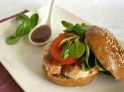 Bagels poulet sauce chinoise...avec Charles Alice