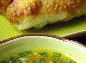 Nems saumon sauce mangue