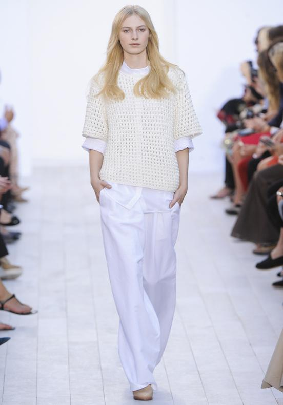 fashion week s/s 12. Chloé