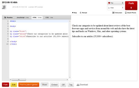 Faire du code JavaScript,HTML5 et CSS avec une extension google Chrome