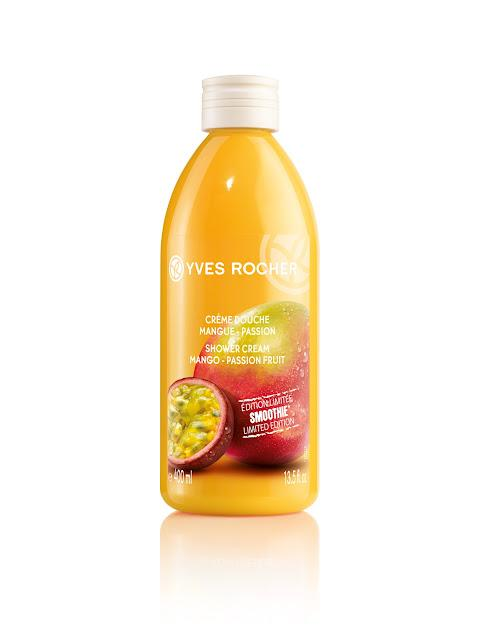 Les Smoothies Ananas-Coco et Mangue-Passion d'Yves Rocher : bye bye le mauvais temps !