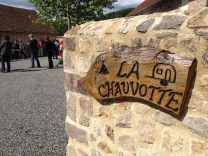 Entrée camping La Chauvotte