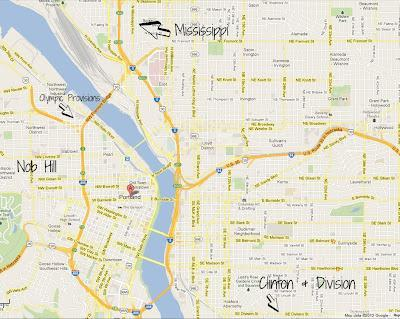 Portland, le reste
