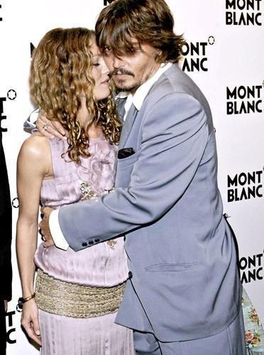 Johnny Depp et Vanessa Paradis amoureux love rupture séparation
