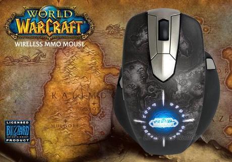 Fan de World Of Warcraft, jouez avec la souris officielle du jeu