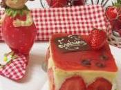 fraisier version crème mousseline