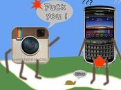 équivalents Instagram pour BlackBerry