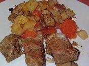 Sauté porc légumes