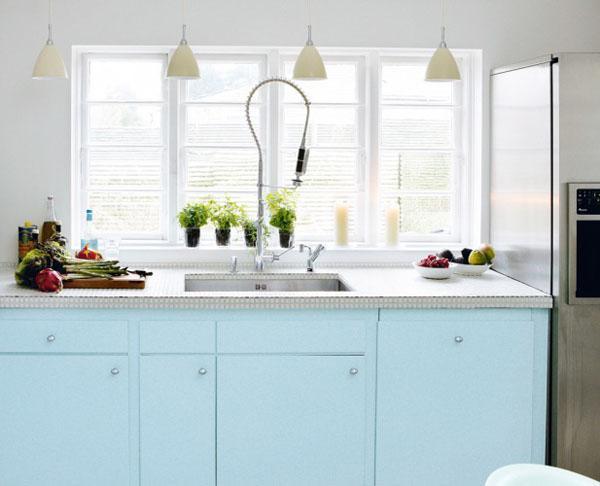 En mood : Une cuisine tendance (donc pastel) ! - Paperblog Cuisine Pastel on