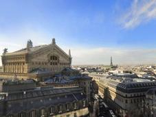 Kiosques éphémères rooftop Galeries Lafayette