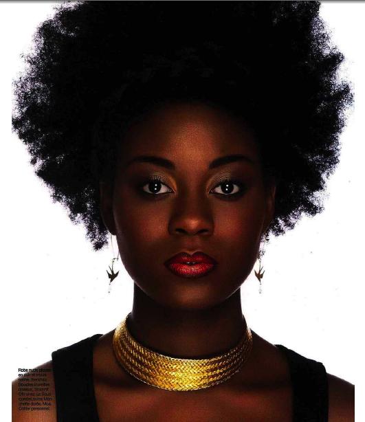 Super Relooking Femme Noire HQ45 | Jornalagora LA06
