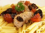 Filet mignon rôti, pruneaux provençal