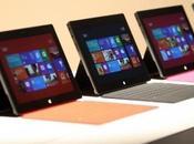 Surface Microsoft, plus cher l'iPad d'Apple...