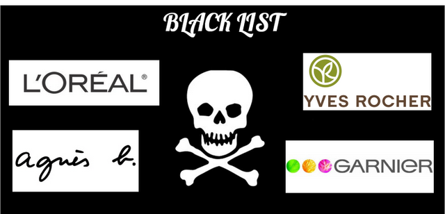 Ma Beauty Black List [Défi du lundi]